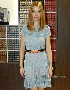 Vestido de punto Vanessa Montoro. con esquemas