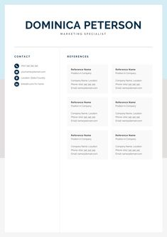 Make your resume, cover letter and references look fantastic and consistent with a modern, creative and professional resume template pack. One Page Resume Template, Modern Resume Template, Creative Resume Templates, Cover Letter For Resume, Cover Letter Template, Letter Templates, Resume Design, Cv Design, Design Layouts