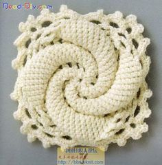 Knitting And Beading Wedding Bridal Accessories and Free pattern: Free crochet square pattern