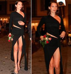 "80 Me gusta, 1 comentarios - Celebricity (@celebricity_) en Instagram: ""Bella Hadid - Night Out in Rome 05/23/2017 @bellahadid  #bellahadid #bella #hadid #model #nightout…"""