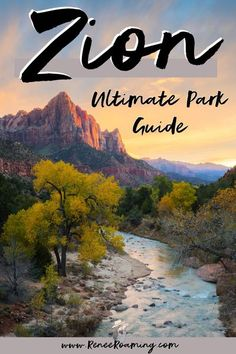 Zion National Park is one of the most unique places on earth, and one that truly showcases the diversity of landscapes in the National Parks system. In this guide I will be providing you with information to help you plan your dream Zion National Park trip! You'll find out all the best hikes, the top photo spots, drive up locations, where to stay, a helpful map, and more! #ZionNationalPark #Zion #ZionGuide #ZionHikes #ZionPhotography