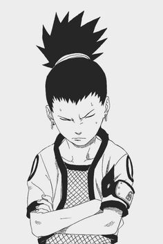 Shikamaru | Naruto | he's lazy, he's a genius and he didn't have a problem with Naruto when they were kids, I always wondered why until I found out how awesome his dad is