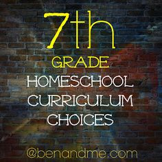 Ben and Me: R is for Restructure (Homeschool Planning for Middle School)