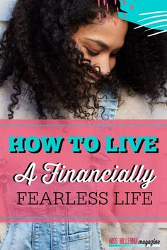 Very few of us interact with money in a purely rational manner. Instead, we approach it with a certain level of fear. Here's how to be financially fearless. Money Tips, Money Saving Tips, About Me Blog, Frugal Living Tips, Best Blogs, Investing Money, Financial Goals, Photography Business, Personal Finance