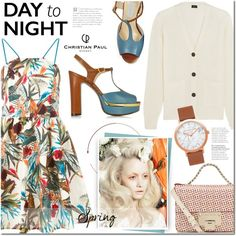 Spring Day to Night by mada-malureanu on Polyvore featuring I'm Isola Marras, Joseph, L'Autre Chose, Jimmy Choo, daytoevening and christianpaul