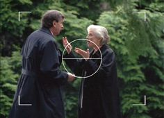 Smoking Man and Teena Mulder arguing, The X-Files