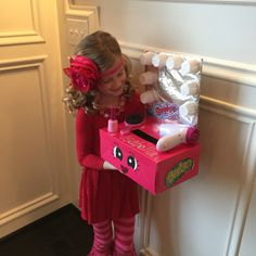 DIY Shopkins Valentine box.