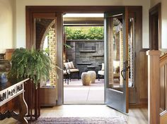 Historic Irving Gill eclectic patio