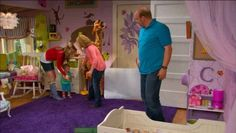 Charlie on Good Luck Charlie's bedroom!