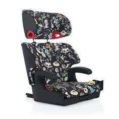 Clek Oobr is a full back booster seat that is built just like the seat in your car but sized for a child. Its metal sub-structure, Rigid-LATCH system and uni...