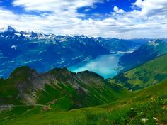 View from Brienzer Rothorn