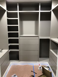 New Custom Master Closet Ikea Hacks Ideas Diy Custom Closet, Custom Closet Design, Bedroom Closet Design, Master Bedroom Closet, Custom Closets, Closet Designs, Ikea Closet Design, Small Master Closet, Bedroom Closets