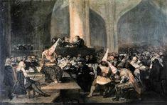 O Tribunal da Inquisição - Goya, Francisco e suas pinturas ~ Foi um importante pintor espanhol da fase do Romantismo