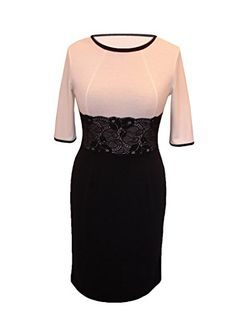 Berry - Grande taille robe Manches 3/4 Taille 40 42 44 46 48 50 52 54 Dasty Berry http://www.amazon.fr/dp/B00NO5WHRW/ref=cm_sw_r_pi_dp_5fXhvb0C9755W