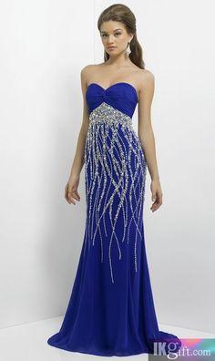 vestido magnifico con brillo