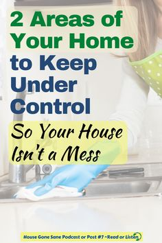 Are you trying to keep your house out of disaster mode? Chances are you are not keeping up on at least one of these 2 types of clutter which is why your house is messy. But your home doesn't have to stay a mess. So here are the 2 areas that will have the biggest impact and cleaning tips for how to keep your house clean. #cleaningtips #myhouseisamess #clutter #housecleaning Daily Cleaning, House Cleaning Tips, Cleaning Hacks, Countertop Dishwasher, Doing Laundry, Make Time, Clean House, Clutter, Make It Yourself