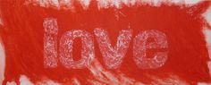 Red Love, carborundum, 140x80 cm