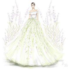 Dá pra ser uma noiva fofa também, olha que charme essa saia da Georges Hobeika