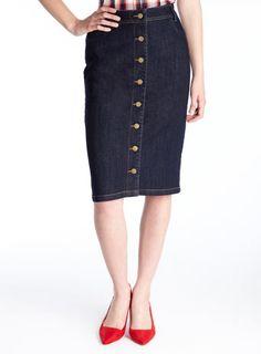 A.P.C. - DENIM MINI SKIRT | Denim Skirt | Pinterest | Denim mini ...