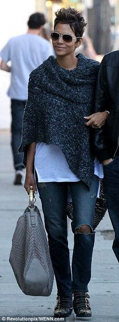 Halle Berry's boots