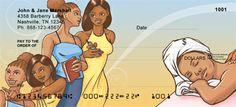 Girlfriends Personal Checks