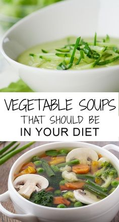 10 Yummy And Quick Vegetable Soup Recipes For Weight Loss Planning to lose weight within a short time? Then the best way to do it is to go on a soup diet. A seven-day soup diet will help you lose at least . Diet Recipes, Vegetarian Recipes, Cooking Recipes, Healthy Recipes, Quick Recipes, Recipies, Sopas Light, Healthy Snacks, Healthy Eating