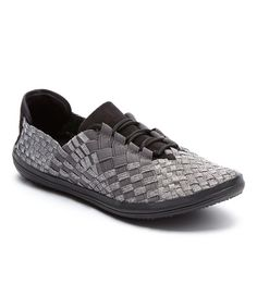 Look at this Serene Comfort Silver Aragony Slip-On Sneaker on #zulily today!