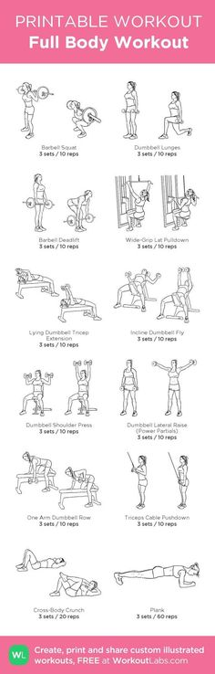 See more here ► https://www.youtube.com/watch?v=0KRTOVZ92_4 Tags: weight loss aids, weight loss for women, workout plans for weight loss - Full Body Workout: my custom printable workout by @WorkoutLabs #workoutlabs #customworkout #exercise #diet #wor More