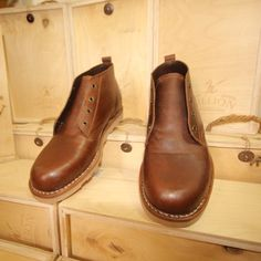 Million Beryl #leathershoes. We just finished cleaning and conditioning them.