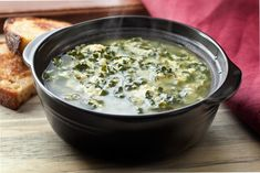 Kale and Parmesan Egg Drop Soup (Stracciatella) Recipe