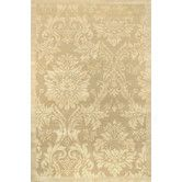 Found it at Wayfair - Impressions Antique Damask Gold/Ivory Area Rug