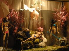 Lingerie Window Display - photo by charlieman75; via The Creativity Window