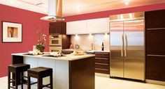 Love the colours! I would have more bench space. #pretty #kitchen