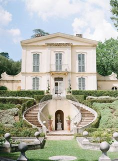 Beautiful Homes, Beautiful Places, Luxury Wedding Venues, Provence France, French Chateau, French Wedding, French Cottage, Palm Springs, My Dream Home