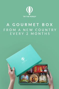 Travel around the world with Try The World! Every 2 months, receive a gourmet box from a different country. Carefully crafted by expert chefs, each box contains 6 to 8 local products that let you explore and experience different foods and cultures. Subscribe today to receive your France Box and a FREE Spain Box.