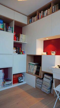 réalisations : Aménagement et décoration d'un appartement, Poitiers, AM esquisse