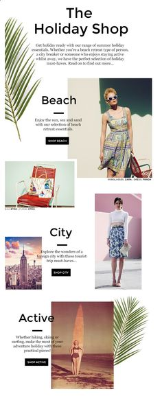 vestiaire collective   holiday shop // email design