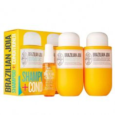 Shop Sol de Janeiro's Brazilian Joia Strengthening + Smoothing Shampoo + Conditioner Set at Sephora. This damage-repair set is for healthy hair that's twice as strong. Target Hair Products, Perfume Fahrenheit, Perfume Invictus, Cupuacu Butter, Perfume Diesel, Sulfate Free Shampoo, Hair Setting, Hair Restoration, Fragrance Mist