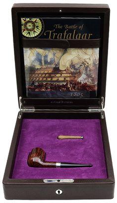 English Estate Dunhill Trafalgar Amber Root (86 of 100) (2001) (Unsmoked)