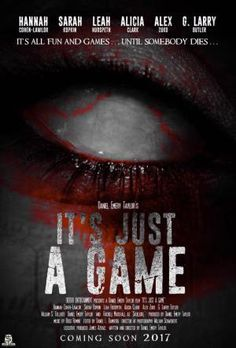 Daniel Emery Taylor Unveils New Poster for 'It's All Just A Game.' | Horror Society
