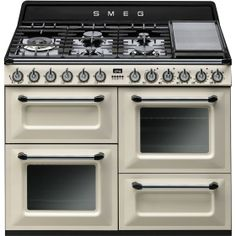 TRA4110P: Cooker Smeg designed in Italy, has functional characteristics of quality with a design that combines style and high technology. See it at www.smeg.com.au