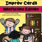 Reading Response Improv Cards are a fun way for your students to share what they are reading with the rest of the class. I have created 36 cards fo...