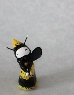 Happy Little Bee  Lisa Snellings Mini Bee Poppet by Strangestudios, $35.00