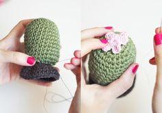 Cómo hacer un cactus amigurumi paso a paso – HAPPY CROCHET BLOG