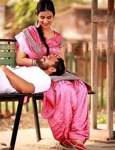 Funny Wedding Poses, Wedding Pics, Wedding Couples, Romantic Photography, Photography Poses, Pre Wedding Videos, Marathi Wedding, Trendy Suits, Punjabi Couple
