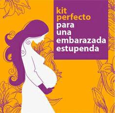 """Diseño personalizado para el """"Kit perfecto de una embarazada estupenda"""""""