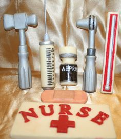 Nurse Cake Decorating Kit : Nurse/Doctor Birthday on Pinterest Nurses, Graduation Parties and Over The Hill