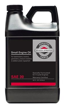 Briggs & Stratton 30W Engine Oil - 48 Oz. 100028, 2016 Amazon Most Gifted Oils & Fluids  #Lawn&Patio
