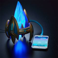 StarCraft Protoss Pylon USB Charger Is Pretty Damn Awesome