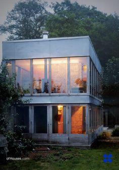Alison & Peter Smithson /// 'Solar' Pavilion /// Font Hill Estate, Tisbury, Salisbury, UK /// 1959